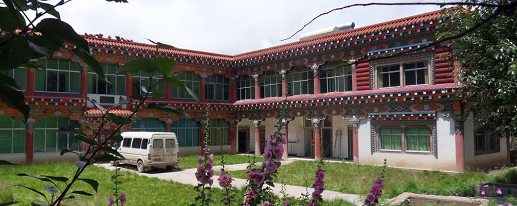 International Friendship Centre - Built in a traditional Tibetan style
